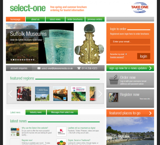 Why use the SelectOne website?
