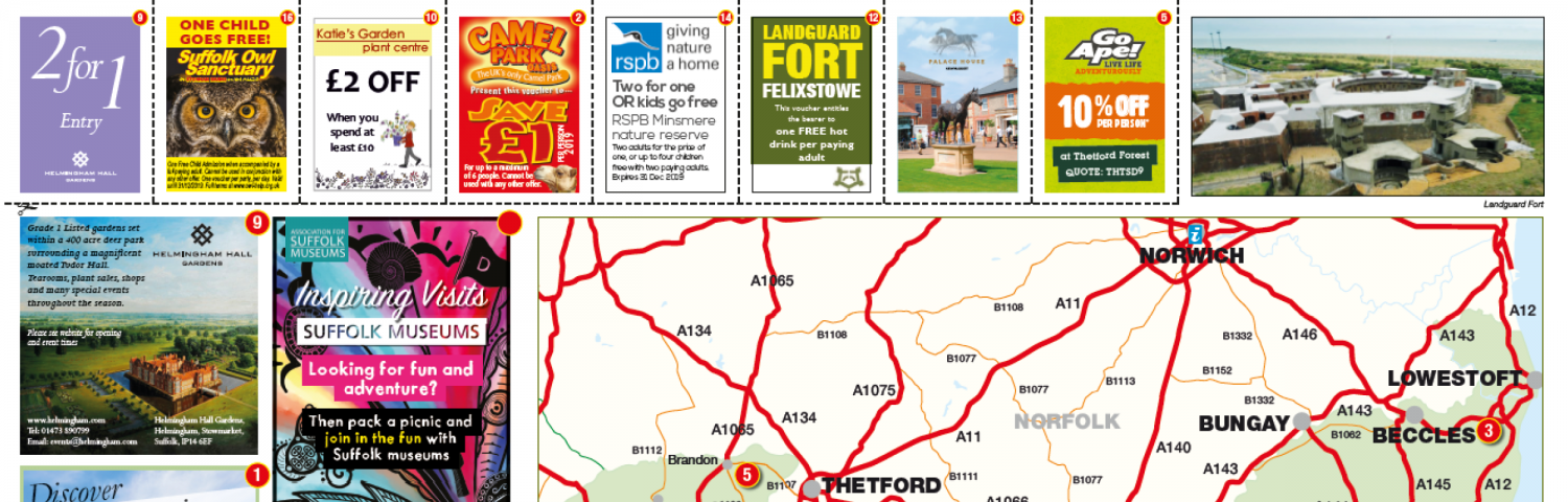 Suffolk: Things to see & do - Hideout Widget Build