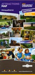 Visit Peak District & Derbyshire Attractions Map